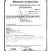 USDA product permit