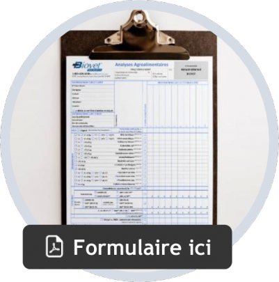 Formulaire agroalimentaire